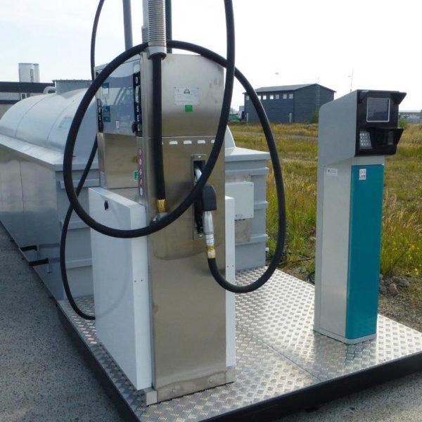 10 m3 cistern med betalsystem