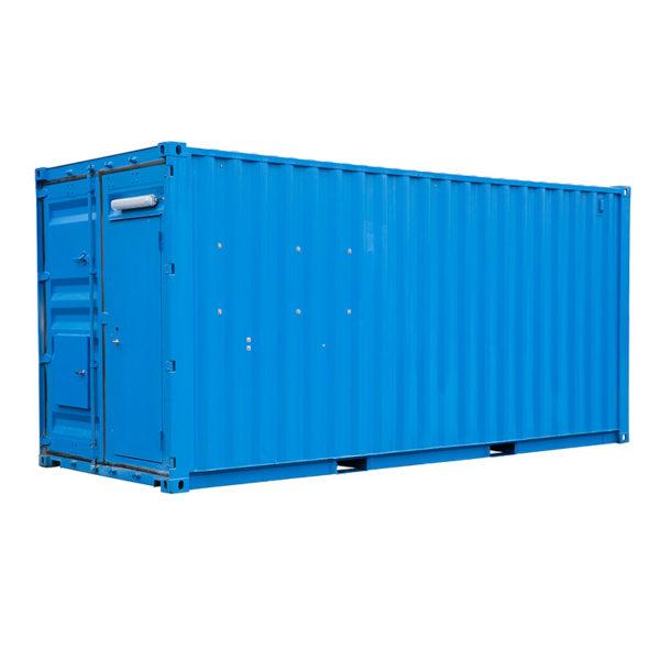 Cisternen levereras monterad i en 20- eller 40-fots container.