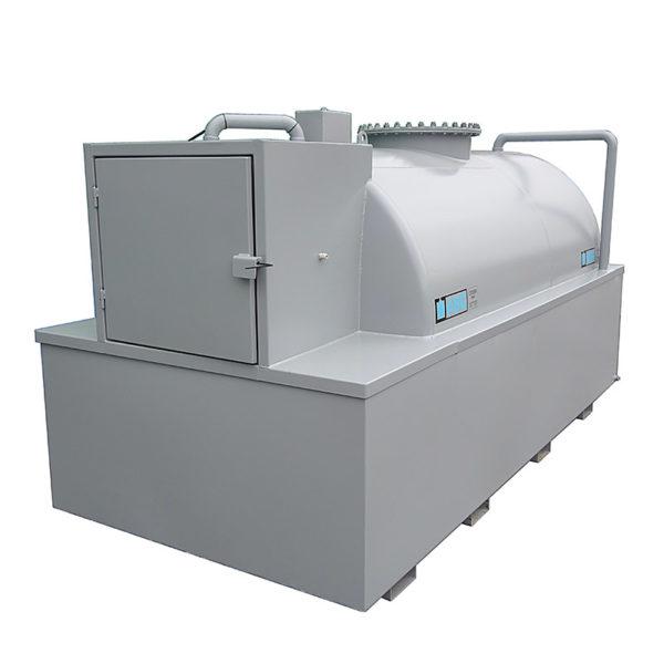 ABG Nytillverkad cistern med miljölåda