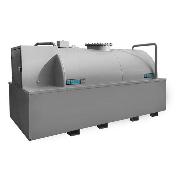 Nytillverkad ABG cistern med miljölåda