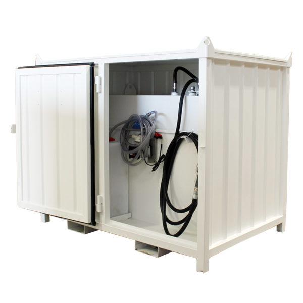 Möjlighet för 220 liters plasttank utrustad för Ad-blue