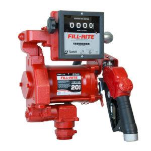 Bränslepump Fill-Rite 700 med 4-siffrigt räkneverk