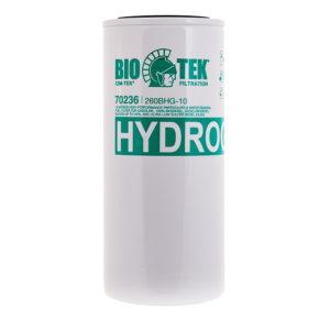 Bränslefilter för biodiesel HYDROGLASS 260BHG-10 micron, CT-70236