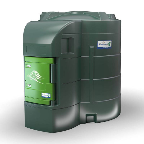 FuelMaster 9000 liter, stationär plasttank