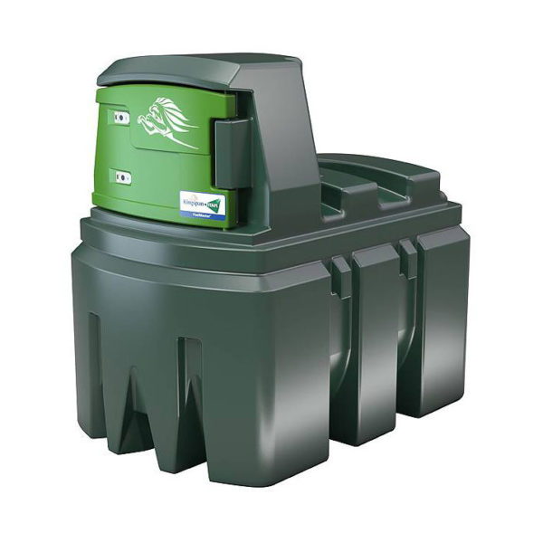 FuelMaster 2500 liter, stationär plasttank