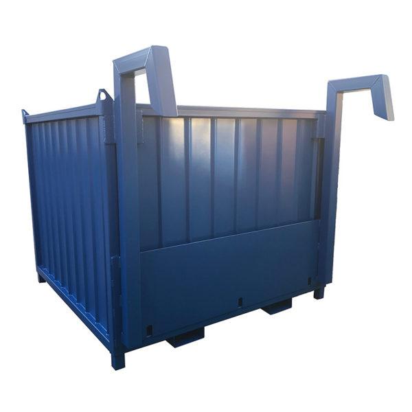 Kombi Containertank - IBC - transportgodkänd, här visas lyftgrepp