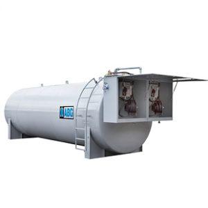 Nytillverkade cisterner