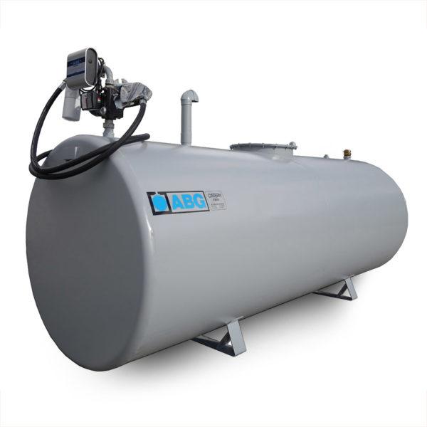Rekonditionerad cistern utrustad med dieselpump KSK 80 SM