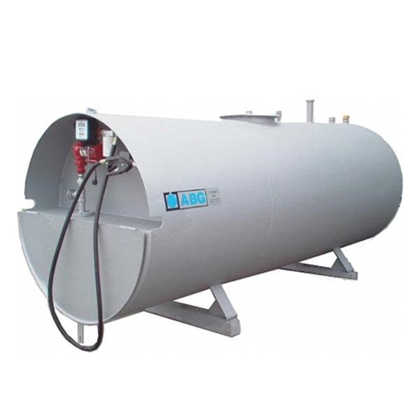 Rekonditionerad cistern utrustad med Fill-Rite pump