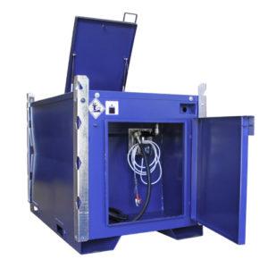 TransMaster med gavelskåp och topplucka