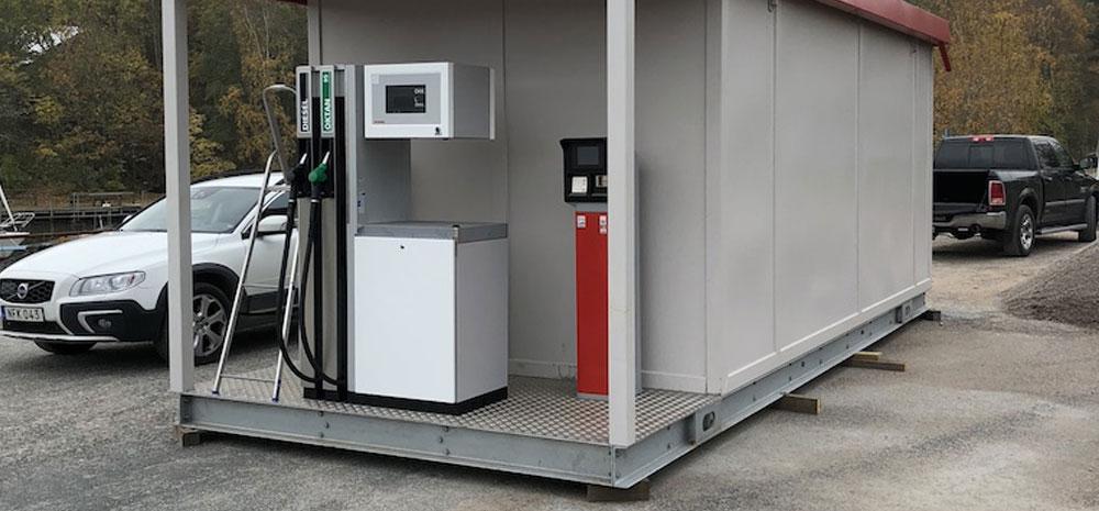 Tankstationer egen mack tankstation