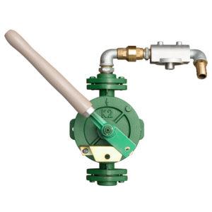 Handdriven klaffpump kapacitet ca 25-30 liter per minut