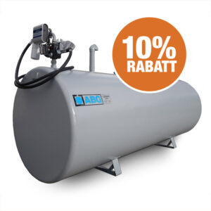 10% rabatt på alla rekonditionerade cisterner i lager